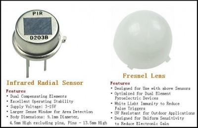 PIR sensor alarm - cảm biến chuyển động
