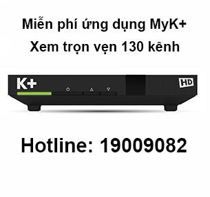 Truyền hình số vệ tinh K+