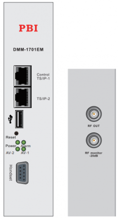 Module DMM-1701IM điều chế tín hiệu IP sang RF Analog.