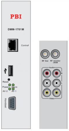 Module DMM-1701M điều chế tín hiệu AV sang RF Analog