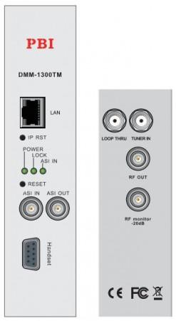 Modules IRD DMM-1300TM Series với bộ xử lý điều chế và chuyển điều chế
