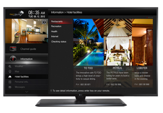 TV LG LX545H
