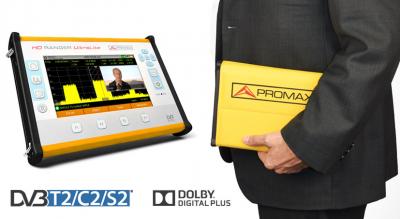 HDRANGER UltraLite-Tablet đo kiểm tín hiệu truyền hình đa năng