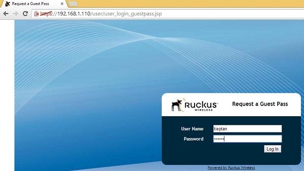 Cấu hình Ruckus ZoneDirector 1100 với Ruckus ZoneFlex 7372