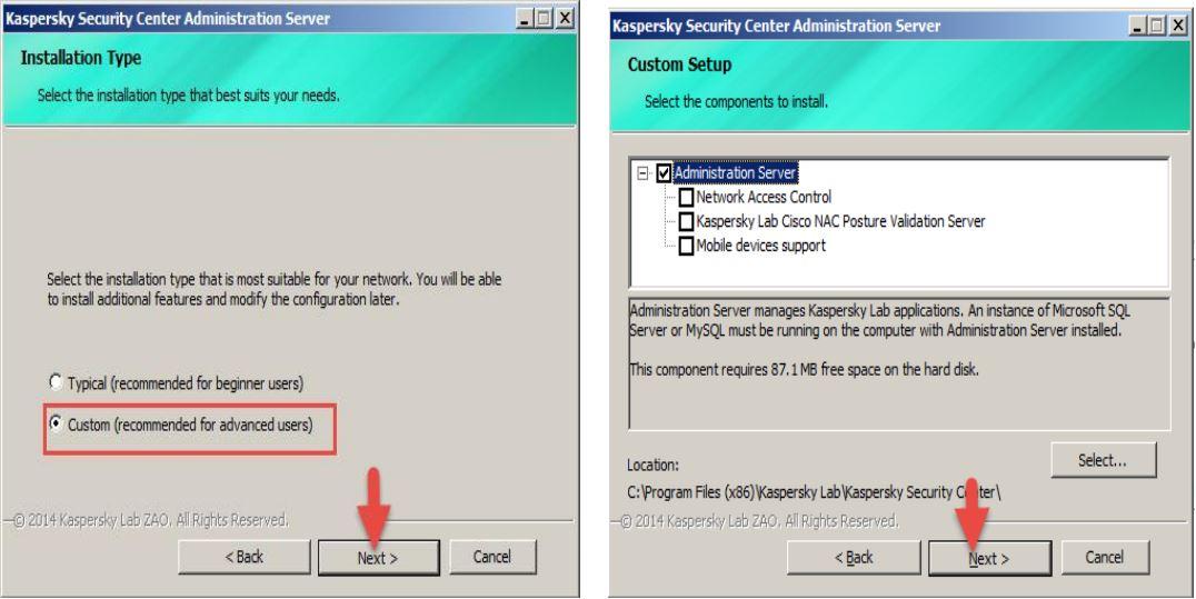 Hướng dẫn cài đặt Kaspersky Security Center 10 - Blog SNT - Công Ty