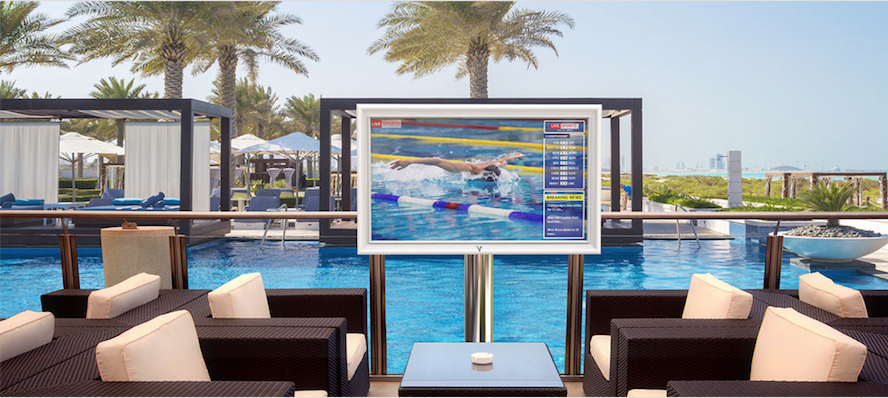 TV outdoor